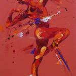 Dare. Oil on Canvas 50x100cm