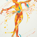 SOLD. Liberte. Oil on Canvas 70x90cm.£1950