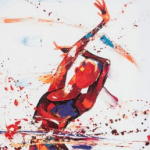 Euphoria. Oil on canvas 50cmx100cm