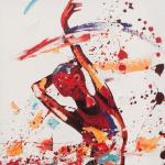 Gracious. Oil on canvas 50cmx100cm £2250