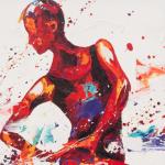 Allegro. Oil on Canvas 50 x100cm
