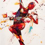 Lace. Oil on canvas 50cmx100cm