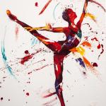 Sparkle Oil on Canvas 70x100cm