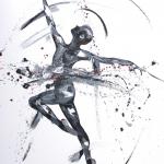 SOLD. Iced Dance. Oil on Canvas 80x100cm £2450