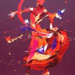 Blaze. Oil on Canvas 65x80cm £1750