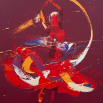 Spin. Oil on Canvas 60x75 £1650