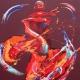 Fervour. Oil on Canvas 100x130cm. Framed £3595