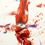 SOLD. Oil on Canvas 45x100cm
