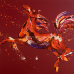 Fantasy. Oil on Canvas 80x100cm £2250