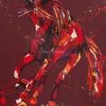 Blaze. Oil on canvas. 60x75cm.