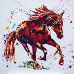 On-Cloud. Oil on Canvas  80x80cm