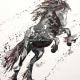 Romancer. Oil on Canvas Board Unframed 50x60cm £1150