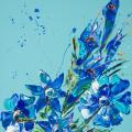 Flower 9, Oil on Canvas 55x70cm £1495