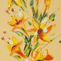 Flower 18, Oil on Canvas 45x80cm £1495