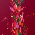 Flower 10, Oil on Canvas 45x100cm £1950