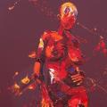 Attentive. Oil on Canvas 45x85cm £1650