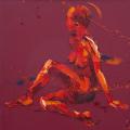 Sensitive.Oil on Canvas 60x60cm £1350
