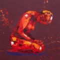 Demure. Oil on Canvas 60x60cm £1450