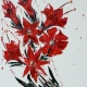 SOLD. Flower 17, Oil on Canvas 70x90cm £1950