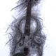 SOLD. Violin. Charcoal on paper. 60x80cm £850