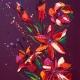 Flower 21, Oil on Canvas 55x70cm £1495