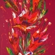 Flower 5. Oil on canvas 60x120cmcm. Sold.