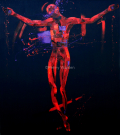 The Crucifixion. Oil on Canvas 90x180cm