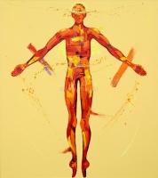 The Resurrection. Oil on Canvas 90x180cm