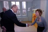 Penny meets HRH The Duke of Edinburgh