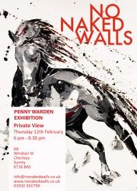 Solo Show at No Naked Walls Gallery